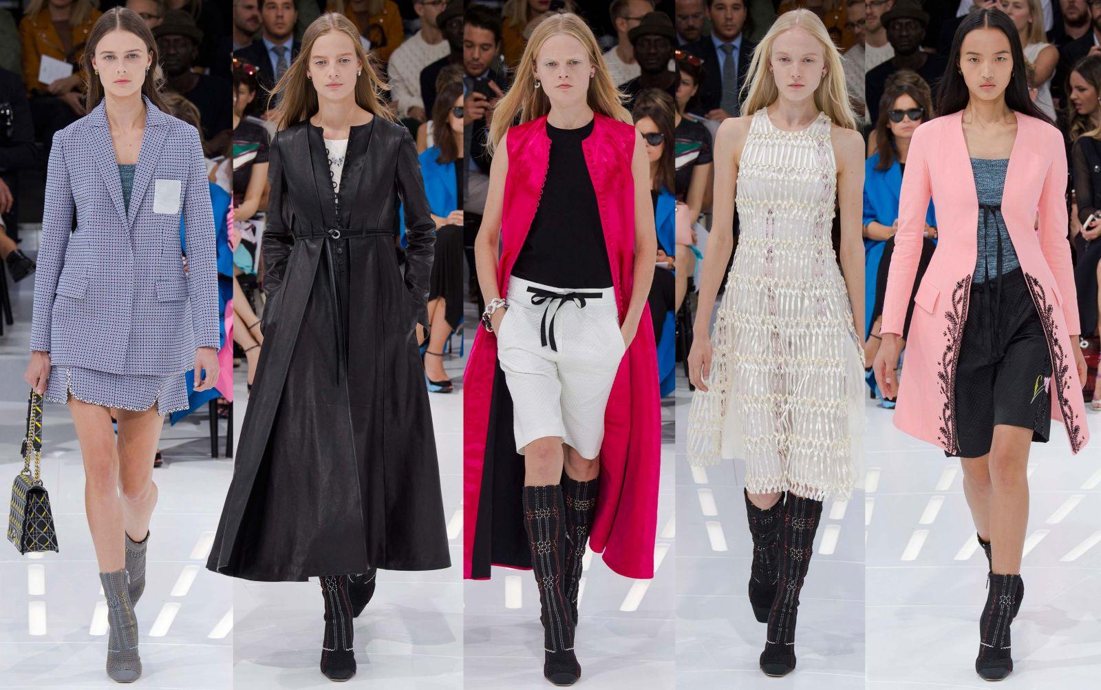 Неделя моды в Париже: Christian Dior, весна-лето 2015 - фото №1