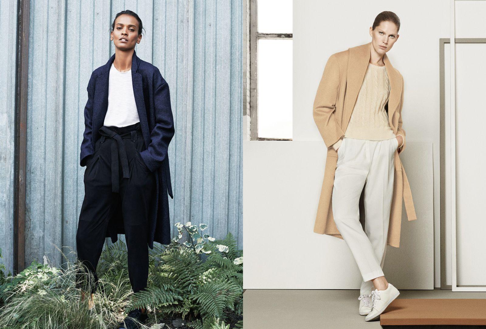 Как в халате: носим пальто на запах - фото №2