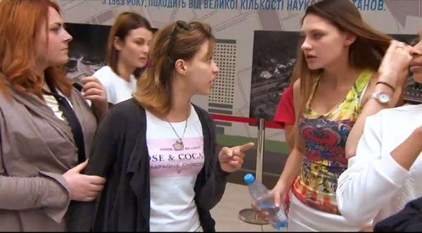 супермодель по-украински 2 драка