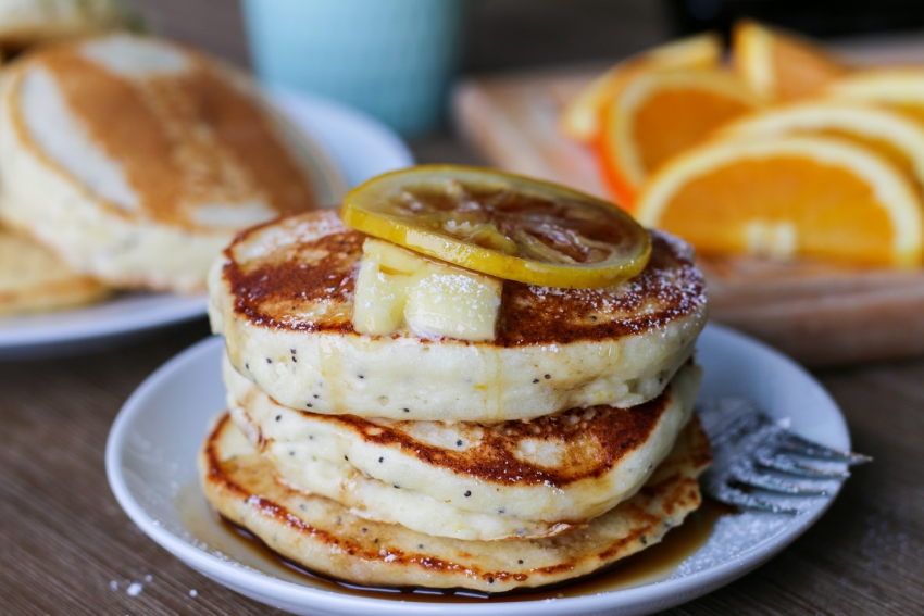Как приготовить зеленые панкейки, гигантские или веганские: готовим идеальный завтрак вместе - фото №20