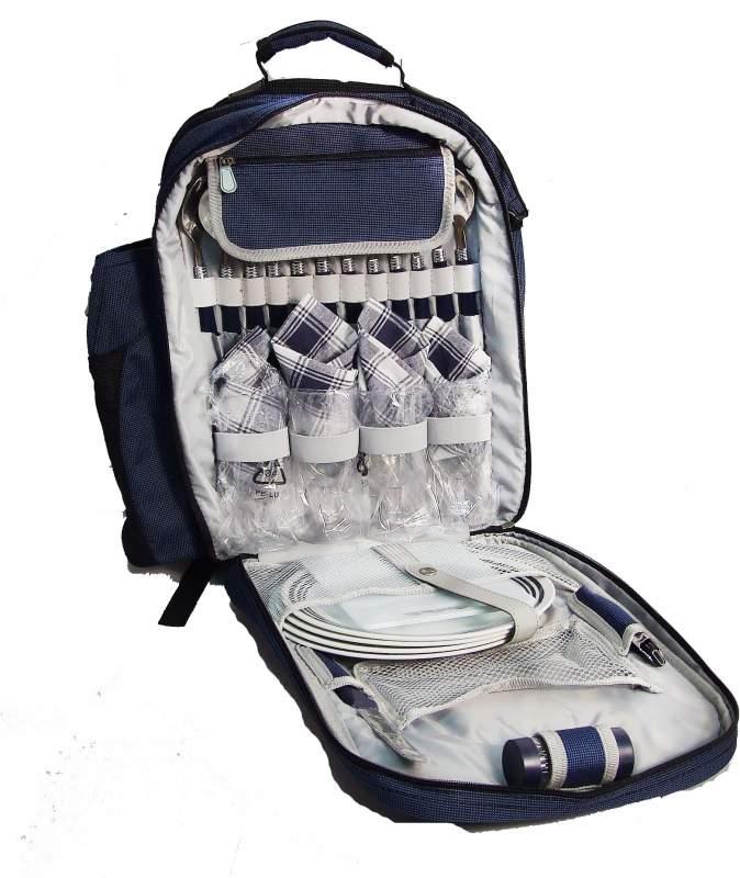 Рюкзак-набор для пикника для 4-х человек