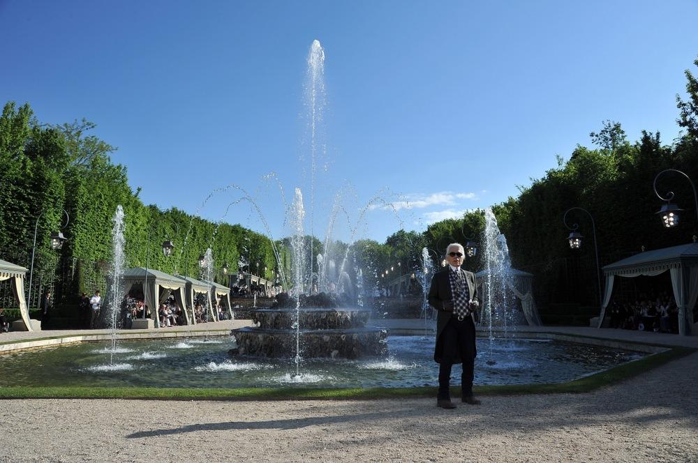 Chanel представил круизную коллекцию в Версале - фото №12
