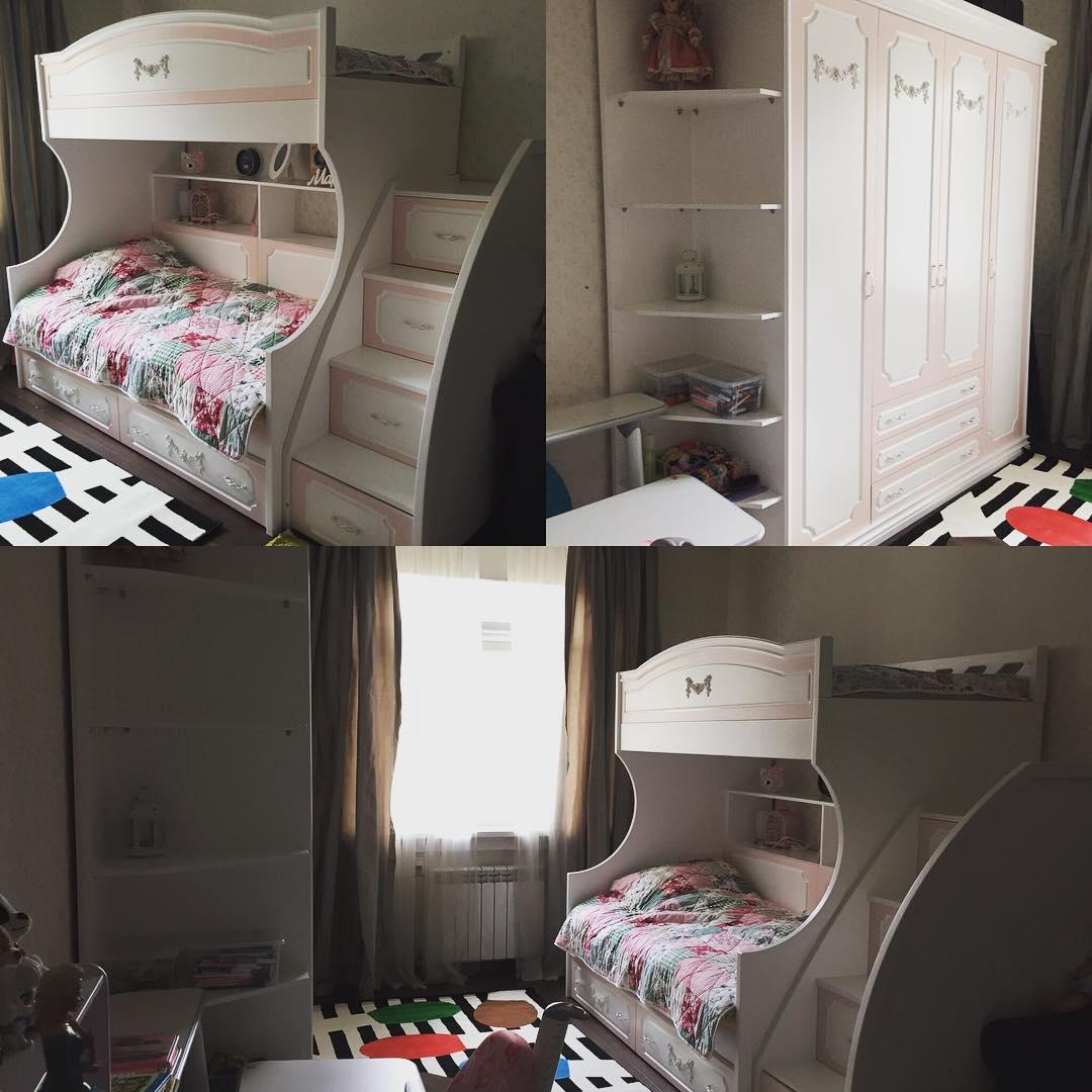 Детская комната для дочки Бородиной
