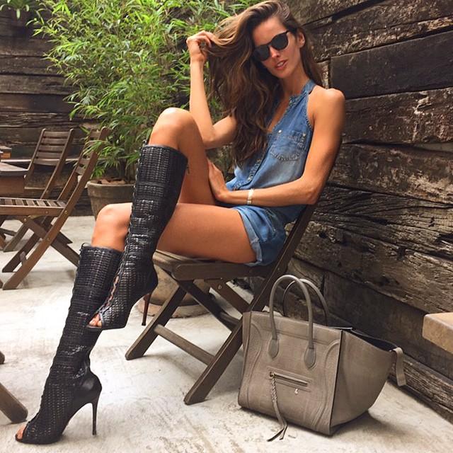 Как модели Victoria's Secret готовятся к шоу - фото №10