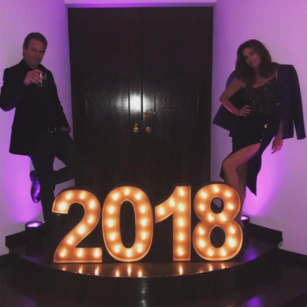 как звезды встретили новый год