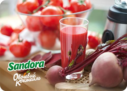 Сандора Овощной коктейль – как полезное сделать вкусным - фото №4