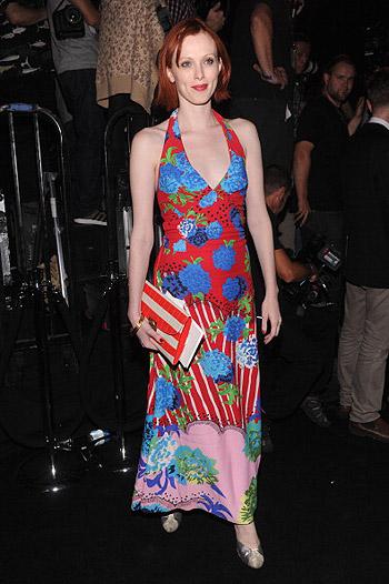 Неделя моды в Нью-Йорке: полосатое шоу Marc Jacobs - фото №18