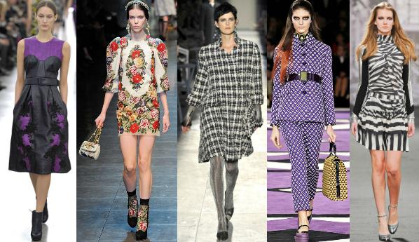 Модные принты осень-зима 2012-2013 - фото №1