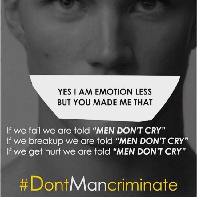 Постеры о дискриминации мужчин: должен ли сильный пол придерживать дверь и уступать место - фото №2