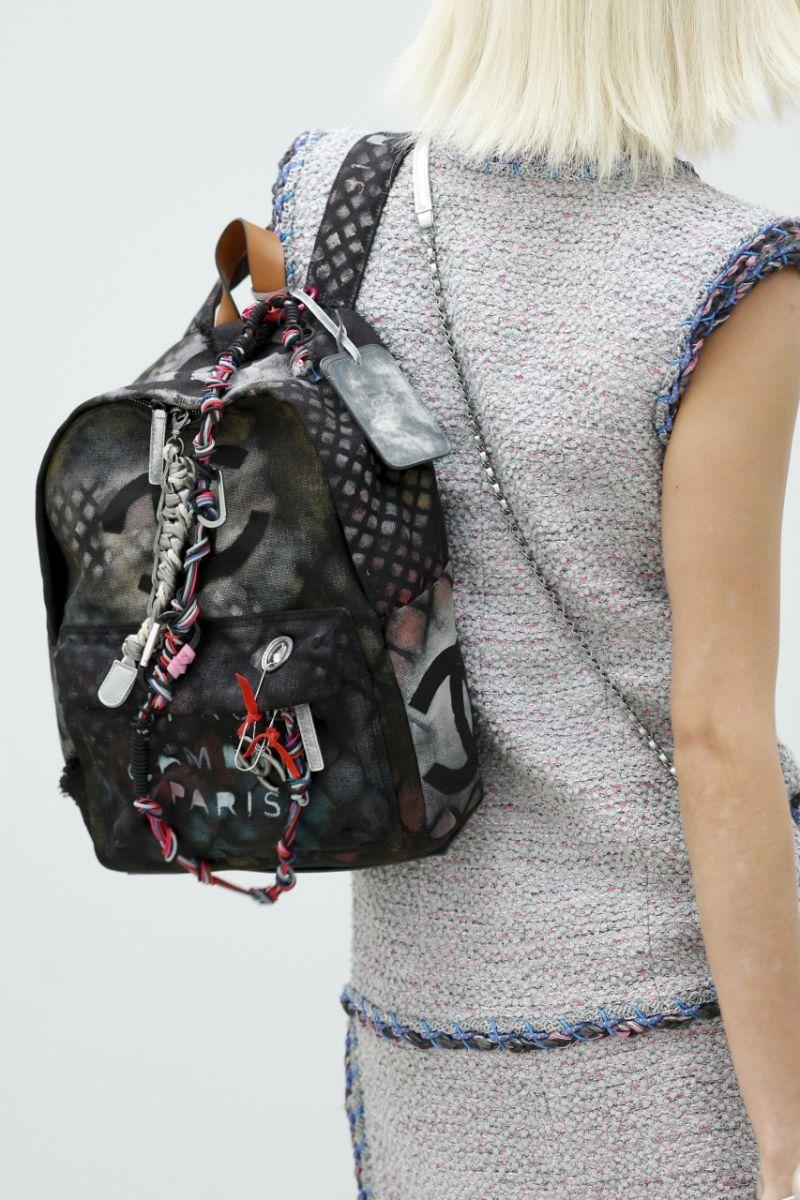 Рюкзак в стиле хиппи от Chanel - фото №1