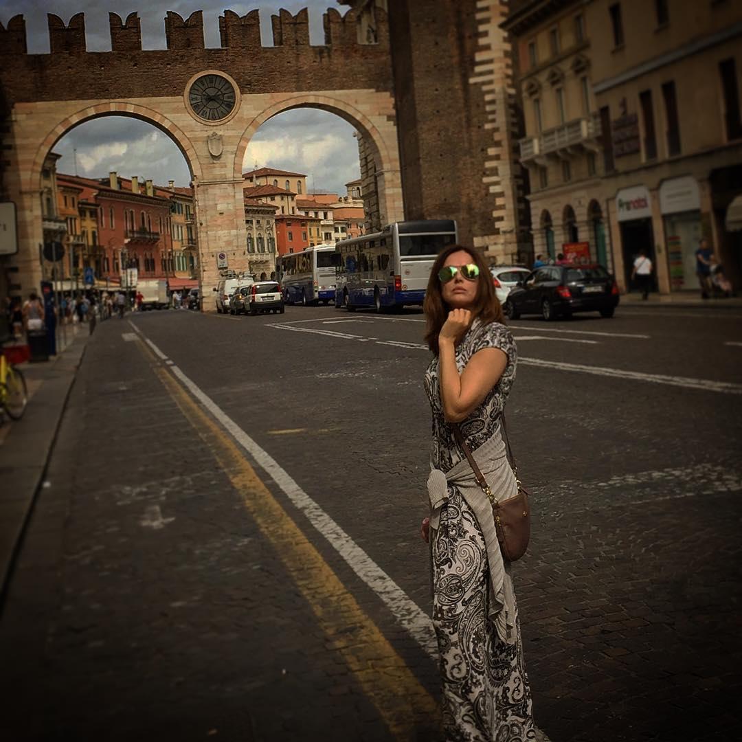 Ирина Безрукова в Италии