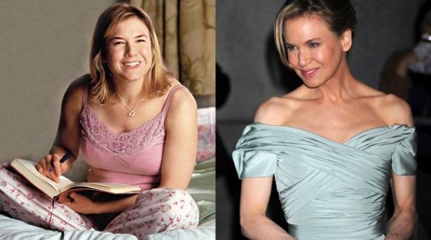 зеллвегер до и после похудения