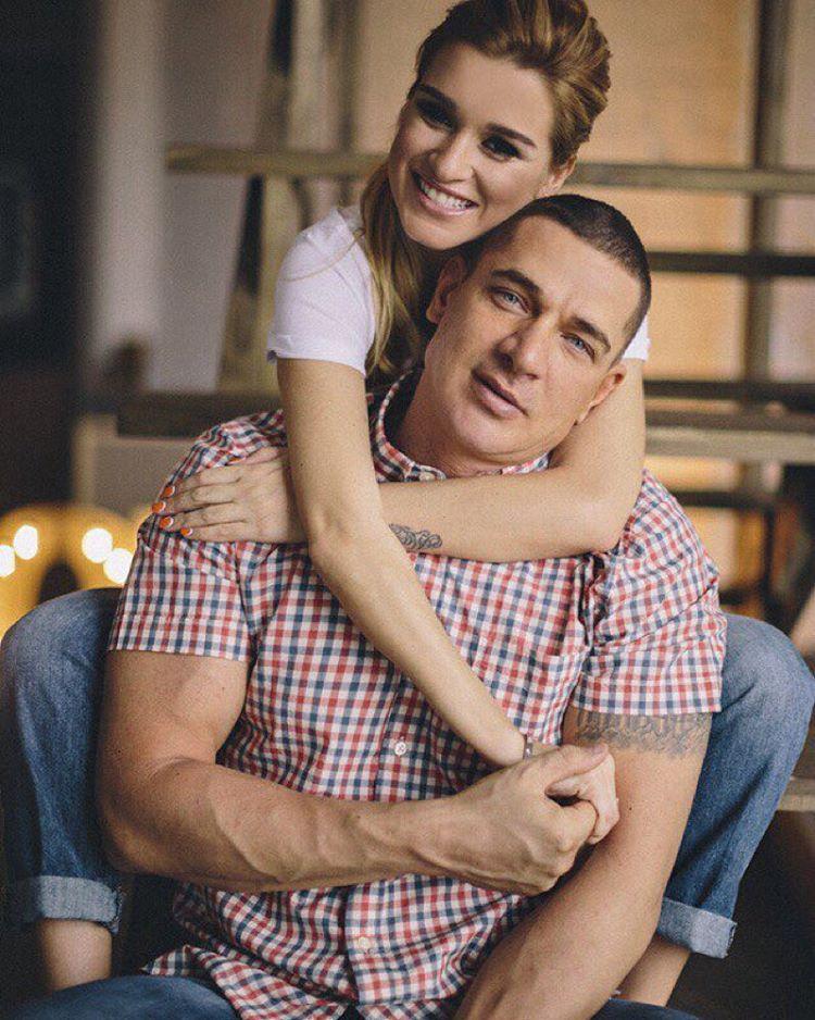 Бородина с мужем