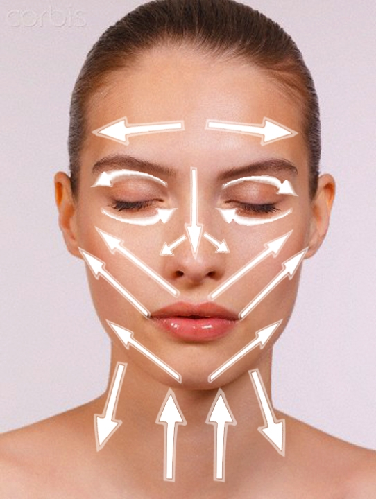 Как правильно наносить крем на лицо по массажным линиям - фото №2