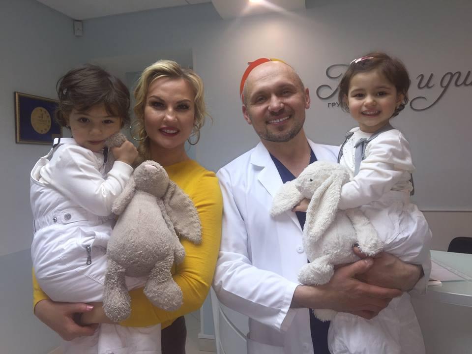 Камалия с детьми