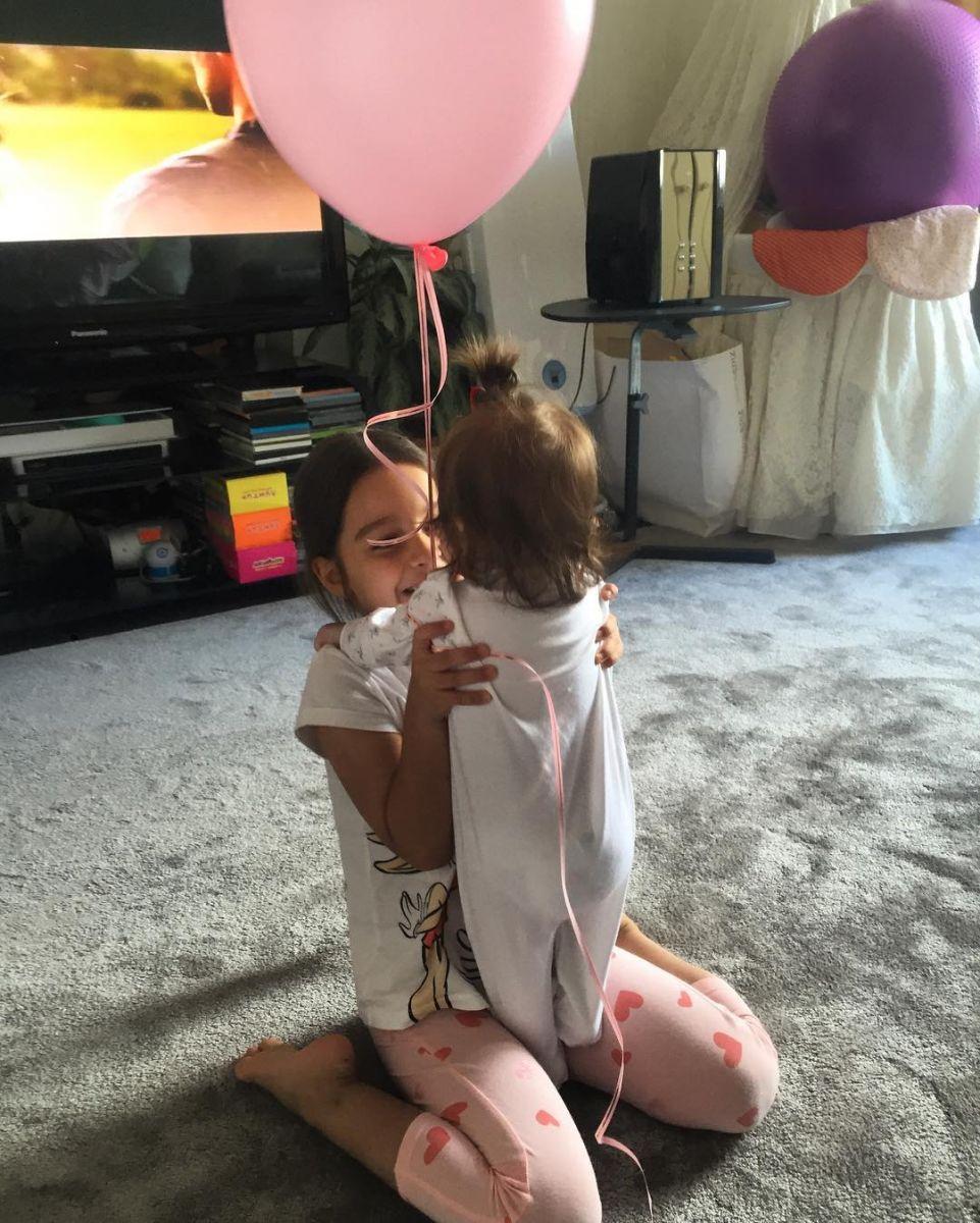 бородина показала младшую дочь