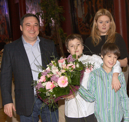 Анна Михалкова в третий раз стала мамой - фото №2