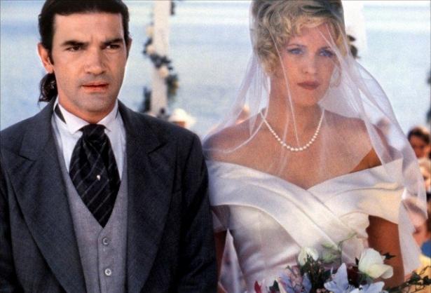 свадьба бандераса и гриффит