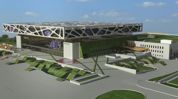 Евровидение 2017 может принять город Днепр на масштабной площадке, в которую вложат полмиллиарда гривен. ФОТО - фото №2