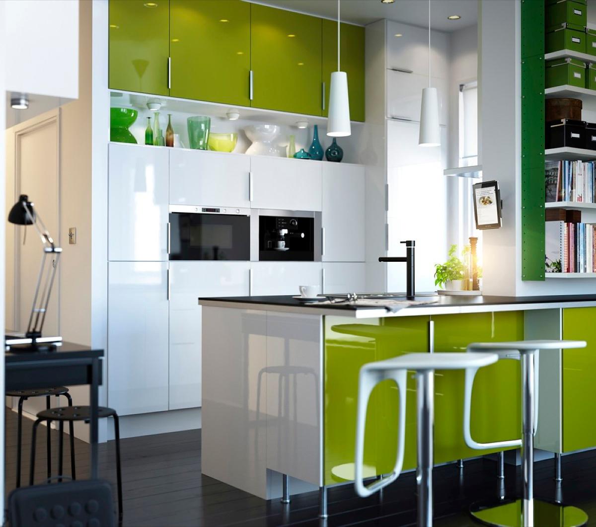 Маленькая кухня: как визуально увеличить пространство - фото №4