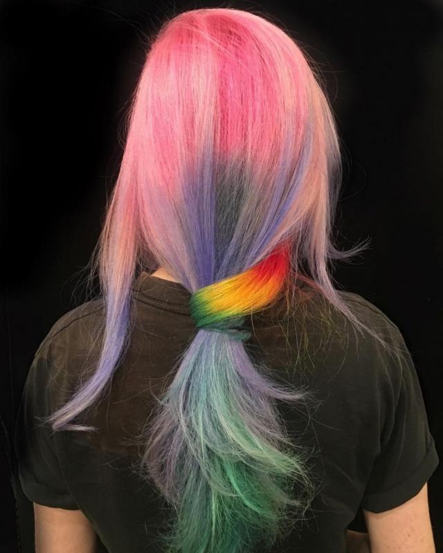 Модное пастельное окрашивание волос: 8 интересных идей - фото №10