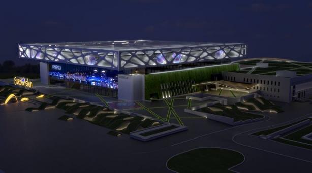 Евровидение 2017 может принять город Днепр на масштабной площадке, в которую вложат полмиллиарда гривен. ФОТО - фото №4
