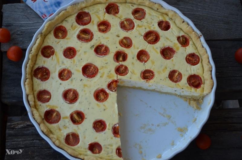 простой рецепт пирога с овощами фото