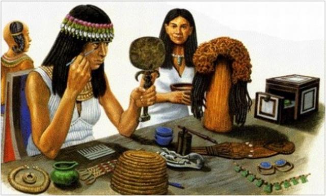 От угля до бьюти-блендера: как развивалась косметическая индустрия с древнейших времен - фото №3
