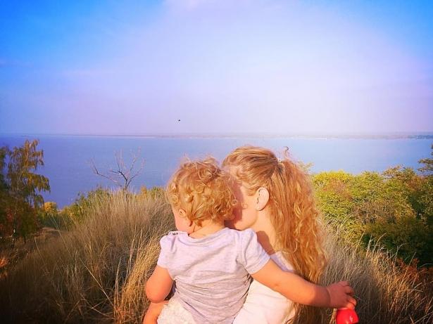 соломко с дочкой
