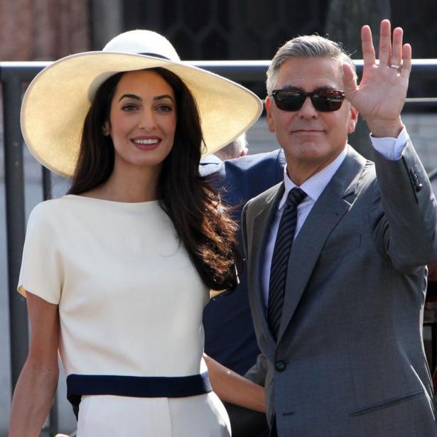 королевская двойня у амаль клуни