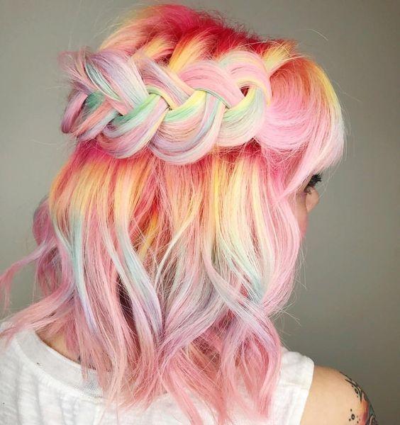Модное пастельное окрашивание волос: 8 интересных идей - фото №1