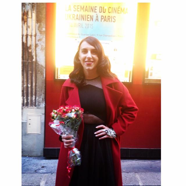 Чем Джамала пленила французов на неделе кино в Париже - фото №1