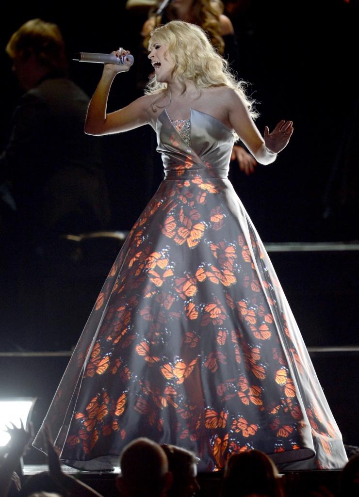 Grammy 2013: победители и красная дорожка. Фото - фото №12