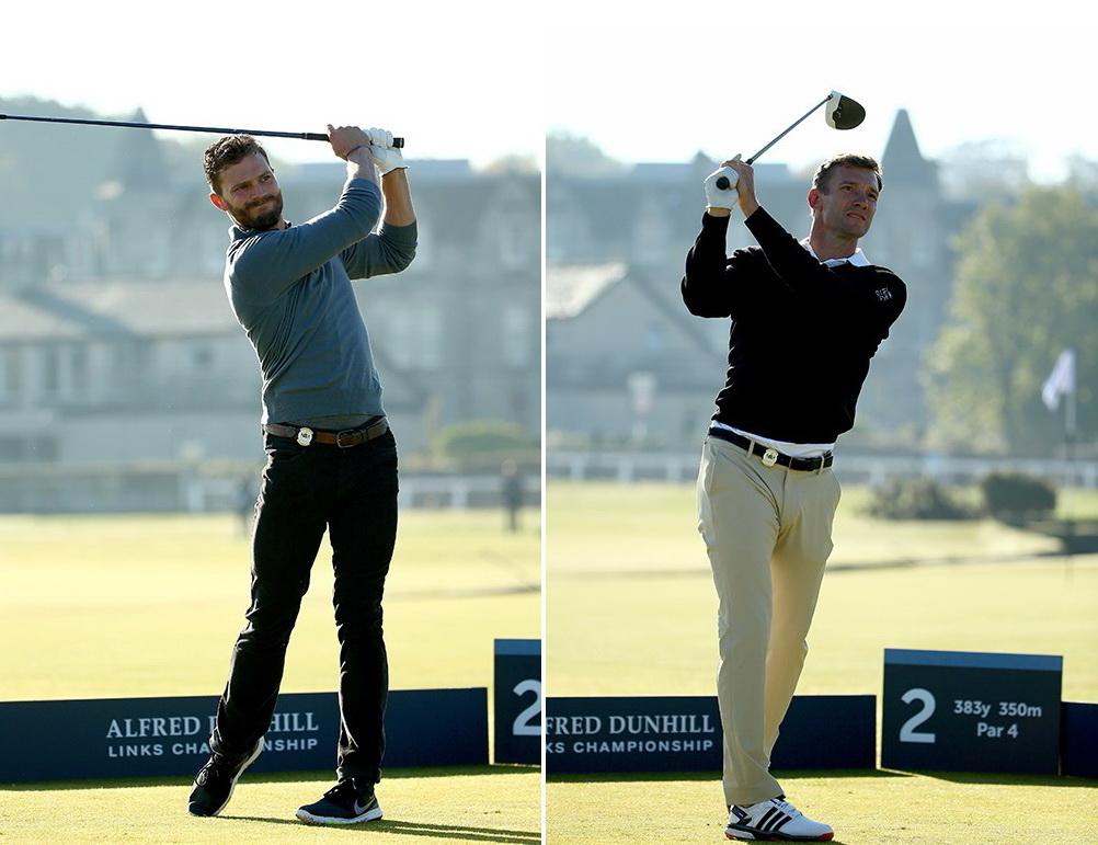 Андрей Шевченко и Джейми Дорнан участвовали в турнире по гольфу