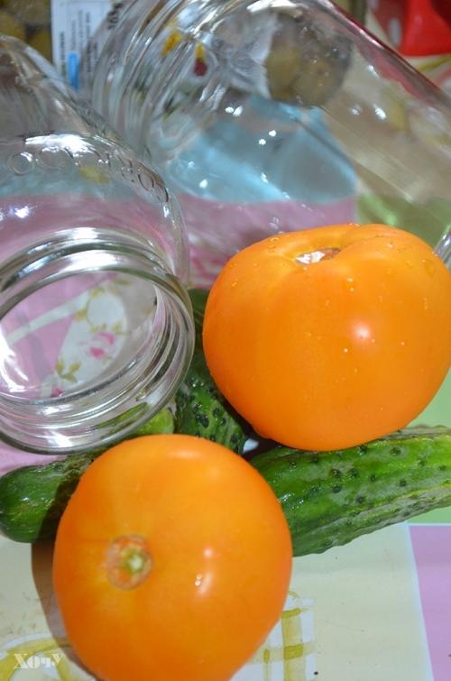 Кулинарная колонка Оли Мончук. Салат в банке - фото №2