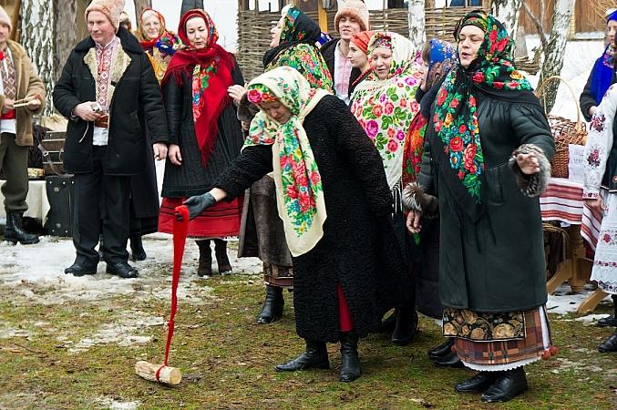 Масленица в Украинском селе»