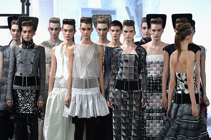 Неделя высокой моды в Париже: Chanel Couture FW 13/14 - фото №26
