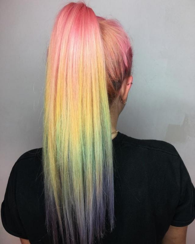 Модное пастельное окрашивание волос: 8 интересных идей - фото №3