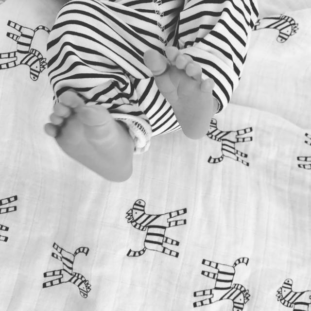 Супруга солиста O.Torvald Жени Галича показала первые фото новорожденного сына - фото №1