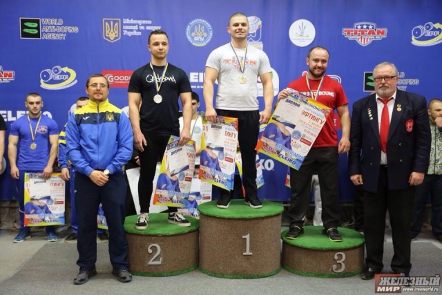 Награждение ЧУ Украины по жиму лежа 2017