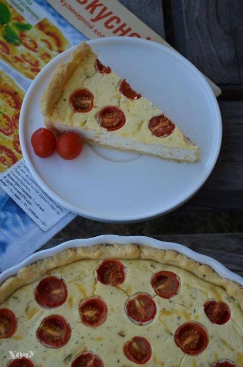пирог с творогом простой рецепт с фото
