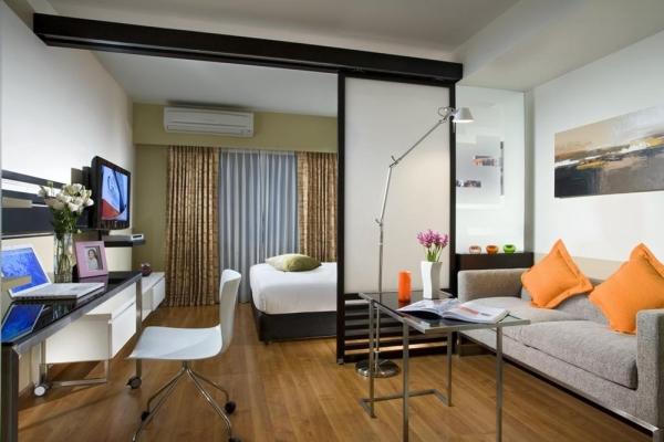 дизайн комнаты спальня гостиная