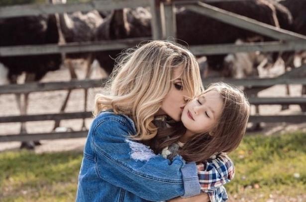 Лобода с дочкой Евой