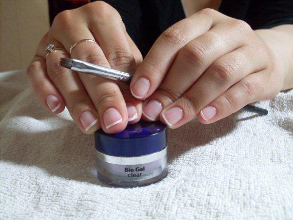 биогель укрепление ногтей