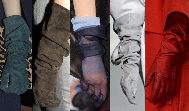 Модные перчатки сезона осень-зима 2013-2014 - фото №2