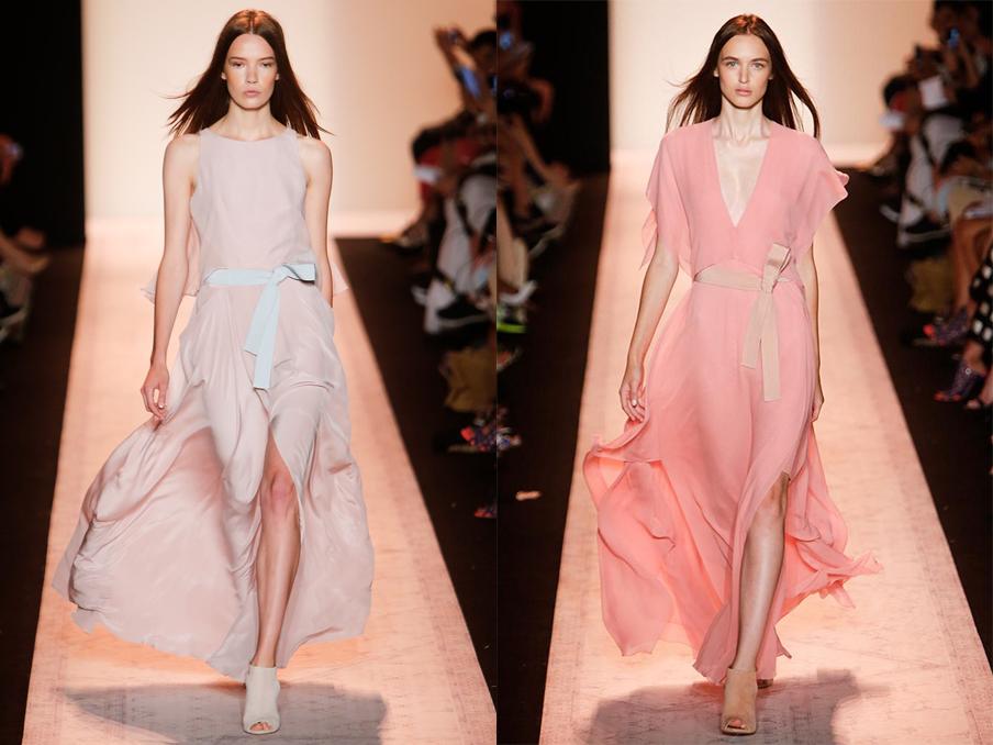 Неделя моды в Нью-Йорке: коллекция BCBG Max Azria, весна-лето 2015 - фото №1