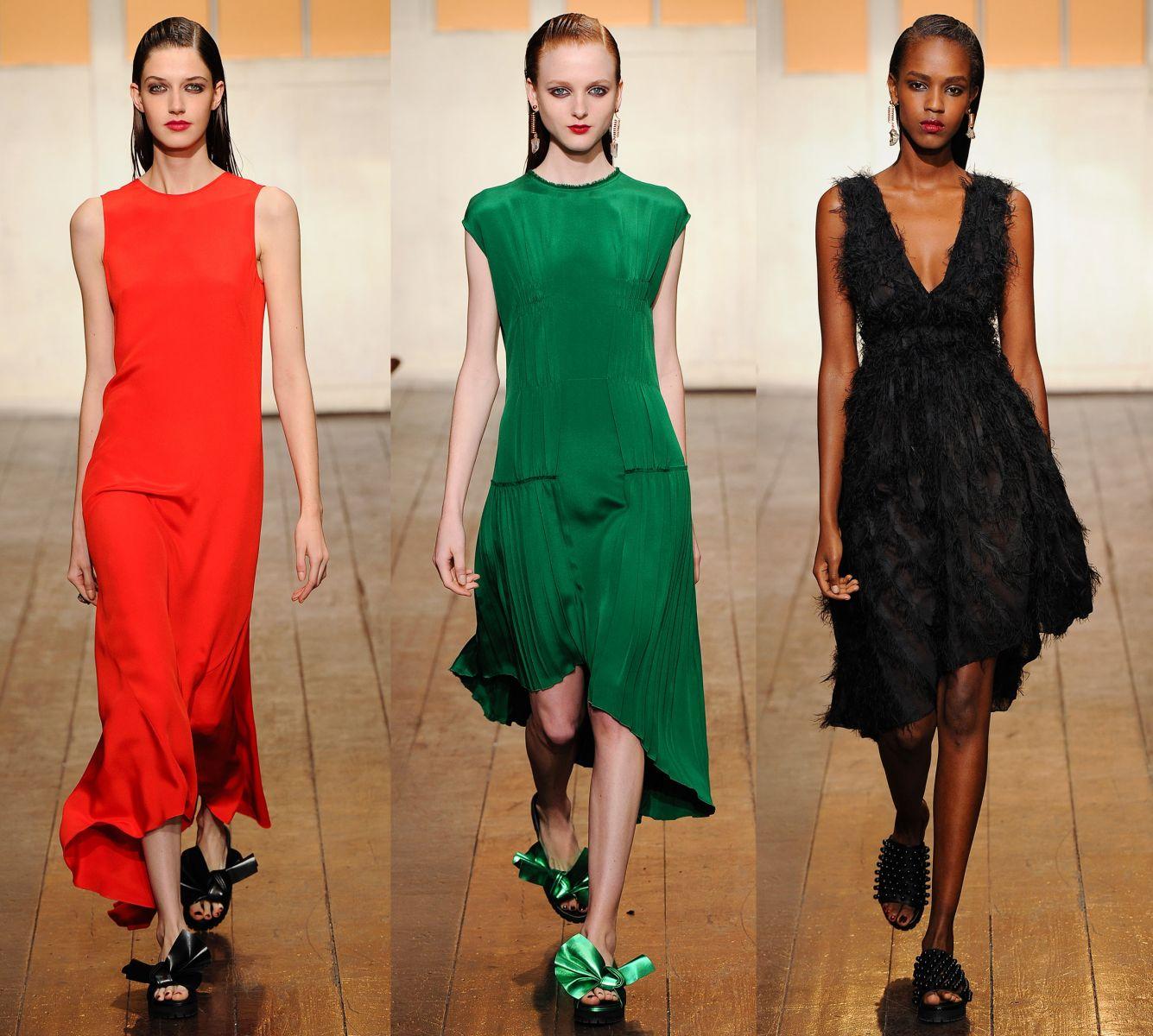 Неделя моды в Париже: Cedric Charlier, весна-лето 2015 - фото №1