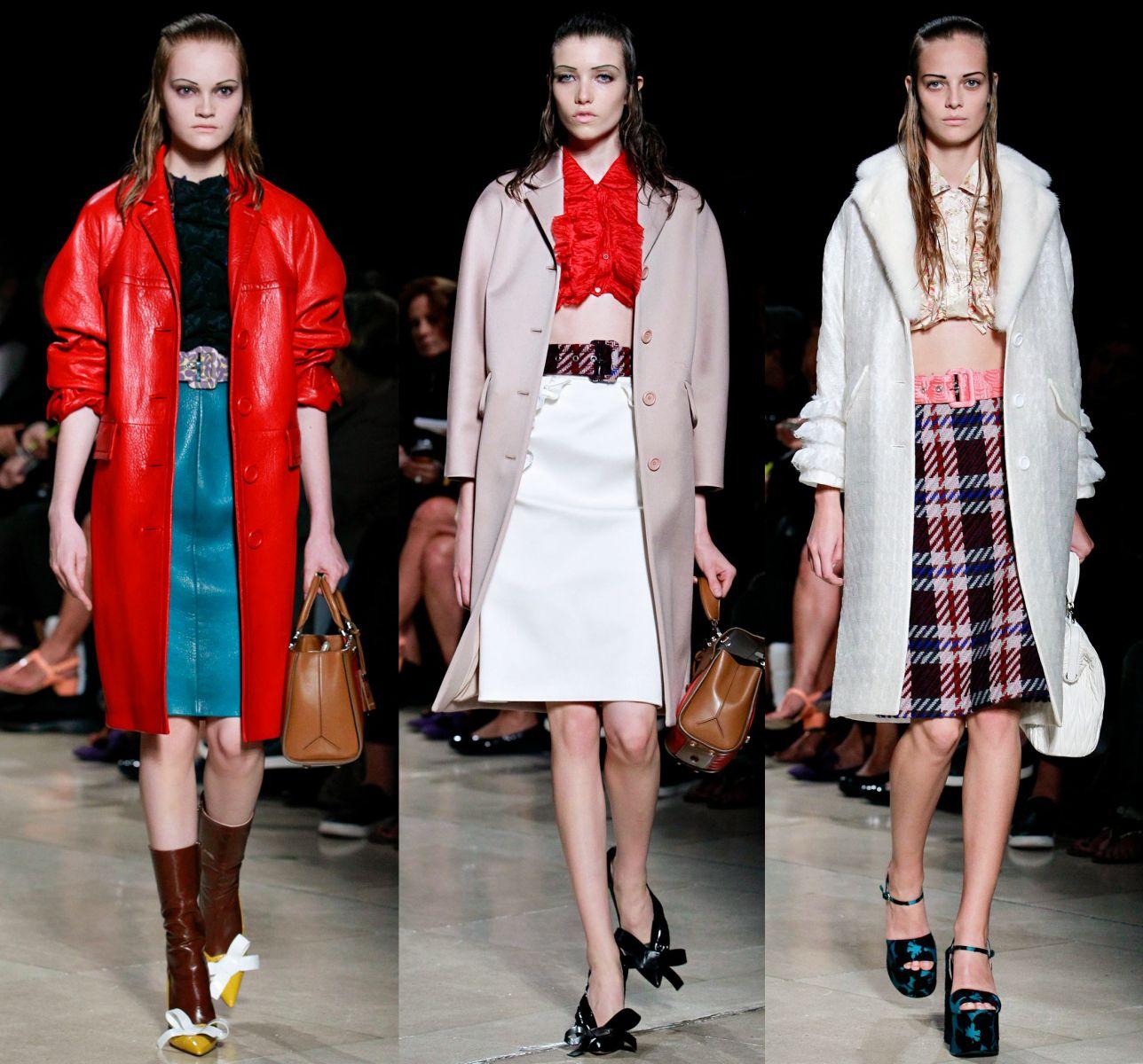 Неделя моды в Париже: Miu Miu, весна-лето 2015 - фото №1