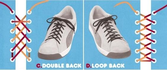 Как можно оригинально завязать шнурки на кроссовках: практические советы (фото и видео) - фото №2