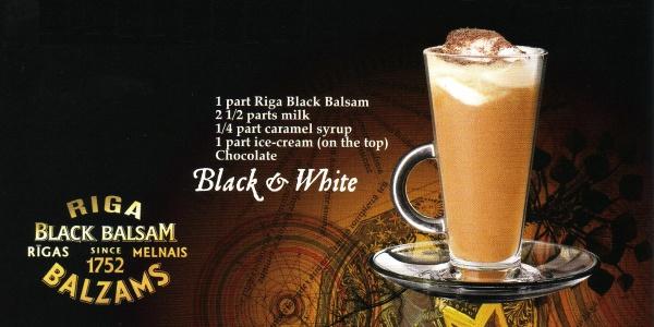 Топ 10 коктейлей с Riga Black Balsam - фото №2